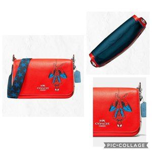 NWT Coach Marvel Jes Messenger with Spider-Man